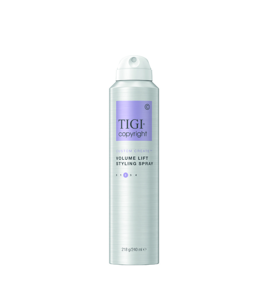 СПРЕЙ-МУСС ДЛЯ ПРИДАНИЯ ОБЪЕМА ВОЛОСАМ TIGI COPYRIGHT CUSTOM CARE™ VOLUME LIFT 240 МЛ