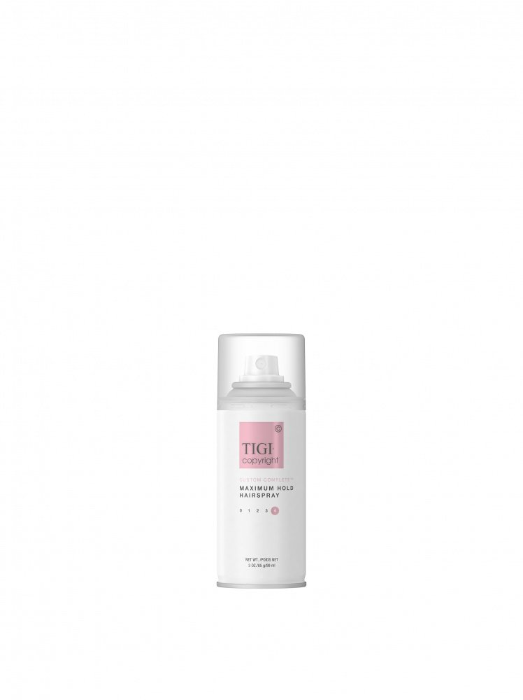 ЛАК СУПЕРСИЛЬНОЙ ФИКСАЦИИ TIGI COPYRIGHT CUSTOM CARE™ MAXIMUM HOLD HAIRSPRAY 100 МЛ TRAVEL SIZE